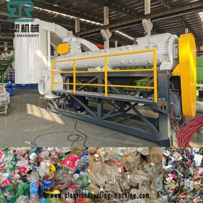 Waste Plastic PET HDPE Bottle Label Remover
