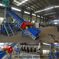 500kg/hr LDPE LLDPE Agriculture Film Washing Line Installed in South Asian