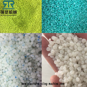 Plastic LDPE/HDPE/LLDPE film recycling and pelletizing machine