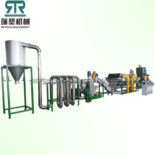 PS ABS PC HIPS crushing washing recycling machine plant