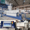BOPET Film Recycling Pelletizing Machine Plant with compactor cutting