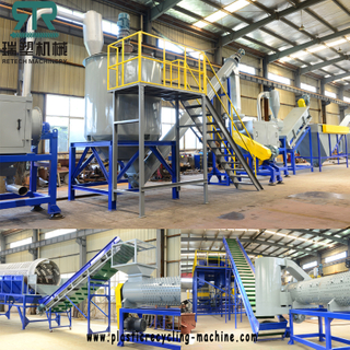 TAILOR-MADE TECHNOLOGY FOR Plastic wash machine LDPE+LLDPE+HDPE Film bottle bag recycling washing solution